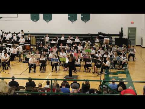 """Cloverleaf Middle School 8th Grade Band """"Star Wars: The Force Awakens"""""""