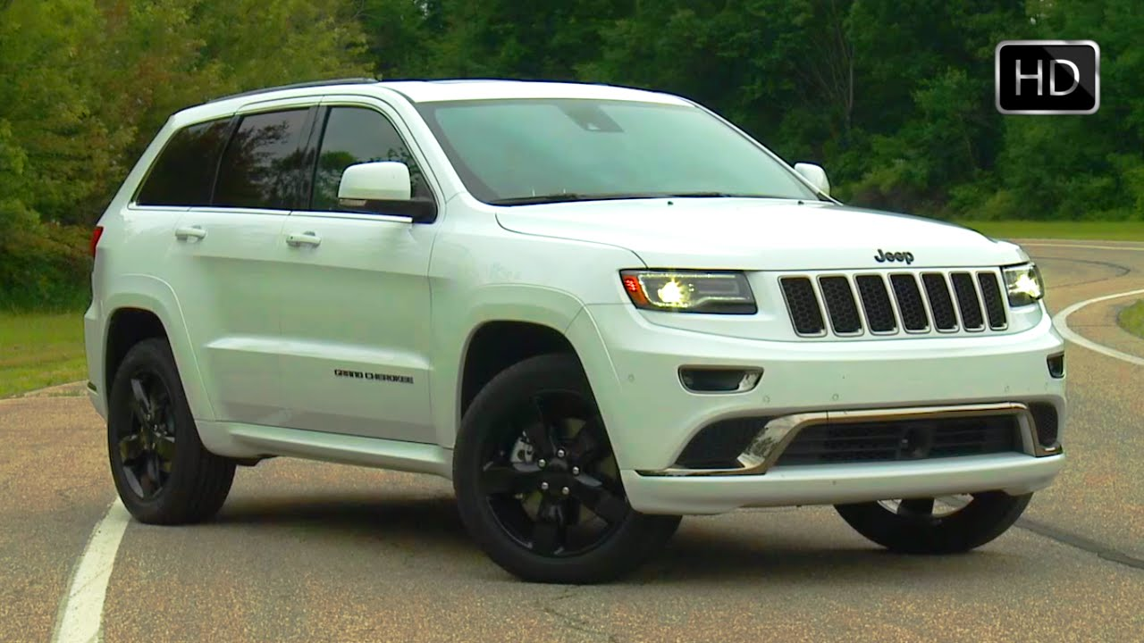 2016 jeep grand cherokee srt high altitude exterior design. Black Bedroom Furniture Sets. Home Design Ideas