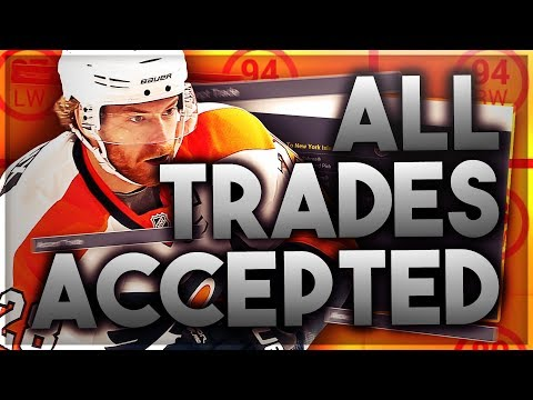 ACCEPTING ALL TRADES with the PHILADELPHIA FLYERS