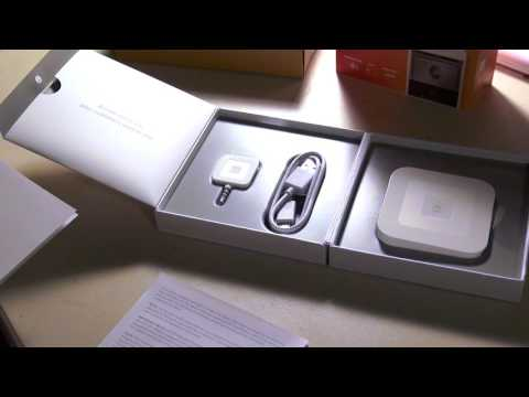 Unboxing/Setting Up Square Contactless/Chip Credit Card Reader