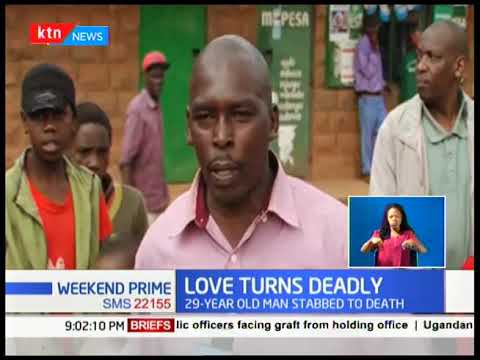 Love Turns Deadly: 29 year old man stabbed to death, he was allegedly killed by his lover