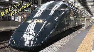 上越新幹線 E3系 現美新幹線 黒いガンダム!? Shinkansen with the impression of Gundam?