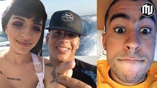 ¡EMOTIVO! Cazzu no resiste las lágrimas al conocer a Daddy Yankee | Bad Bunny vuelve