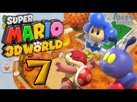 Super Mario 3D World Part 7: Bowsers Kugelwilli-Express