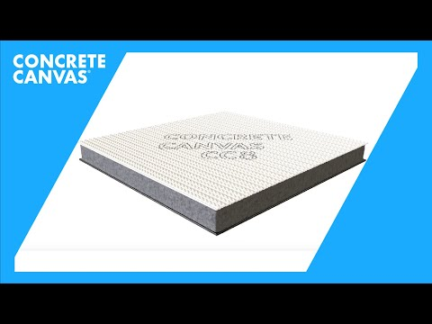Concrete Canvas & CC Hydro Material Introduction (Arabic)