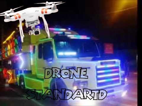 Drone Ribeirão preto, vôos noturno filmando trenzinho. [TRIO TREM BALADA]