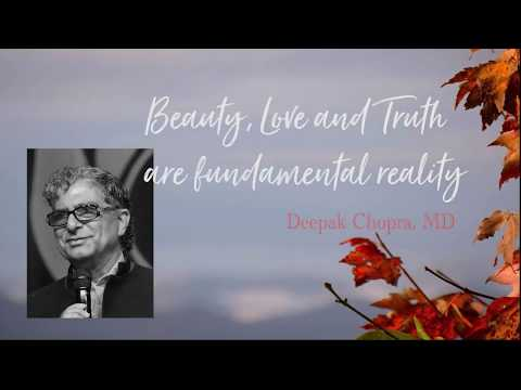 Beauty, Love and Truth are fundamental reality