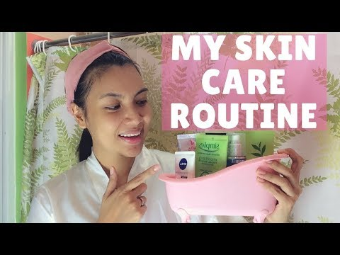 Daily skincare routine for healthy skin-Be Beautiful + Beauty Tips | AnneGandaVlog #8 💋
