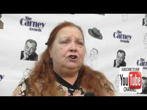 Conchata Ferrell talks about her best  reaction she has ever had at the 2nd Annual Carney Awards