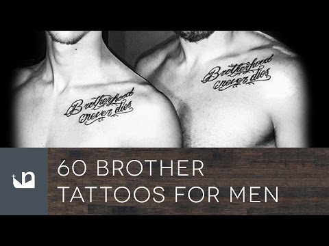 60 Brother Tattoos For Men