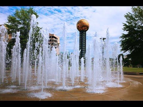 World's Fair Park Water Fountains - Knoxville, TN
