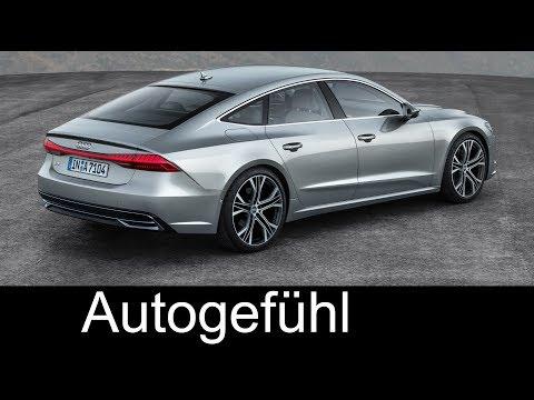 Audi A7 Sportback PREVIEW all-new neu 2018 Exterior/Interior