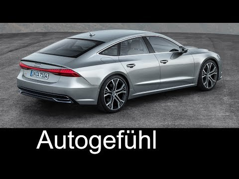 Audi A7 Sportback PREVIEW all-new neu 2018 Exterior/Interior