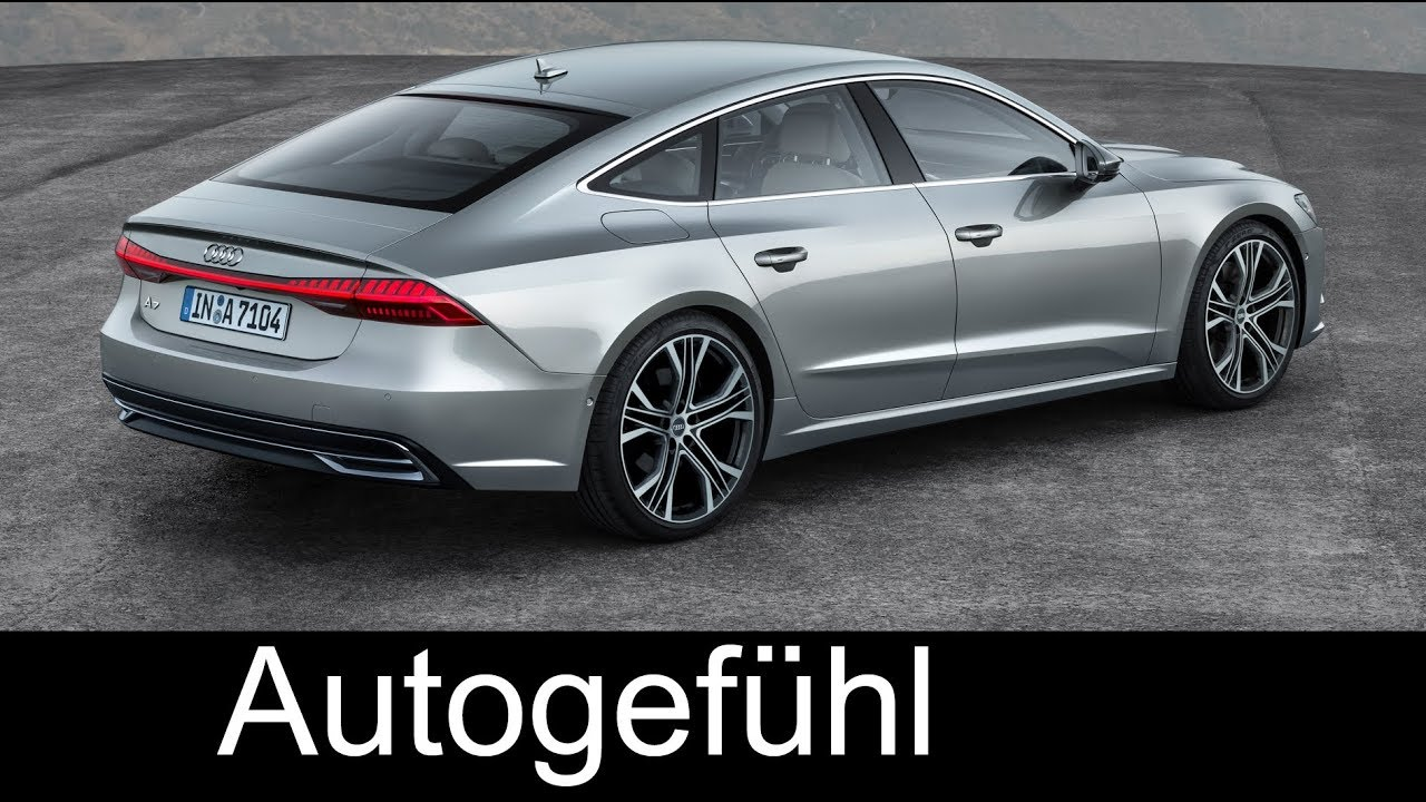 audi a7 sportback preview all new neu 2018 exterior. Black Bedroom Furniture Sets. Home Design Ideas
