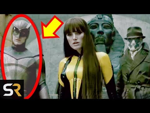 25 Things You Missed In Zac Snyder's Watchmen (2009)