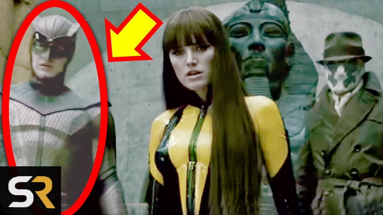 25 Things You Missed In Zack Snyder S Watchmen 2009 Youtube