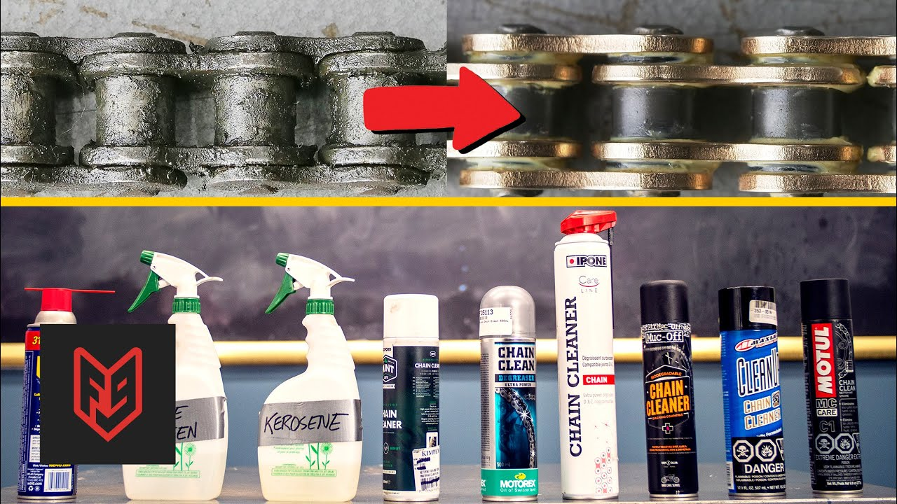 Which Chain Cleaner Is Best Comparison Test Youtube