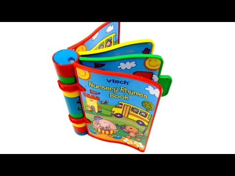 VTech Nursery Rhymes Electronic Toy Book | Kids Early Learning & Education