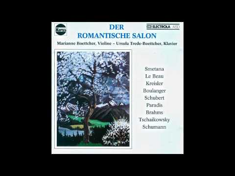 Clara Schumann - 3 Romanzen Op 22 Andante Molto - Der romantische Salon