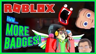 Roblox Hmm... - SPOOKTOBER UPDATE! HOW TO GET ALL NEW BADGES!