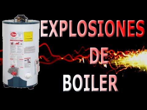 Explosión de boiler o termo tanque solución