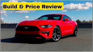 2019 Ford Mustang GT 5.0 Fastback Coupe - Build & Price Review: Features, Colors, Interior, Packages