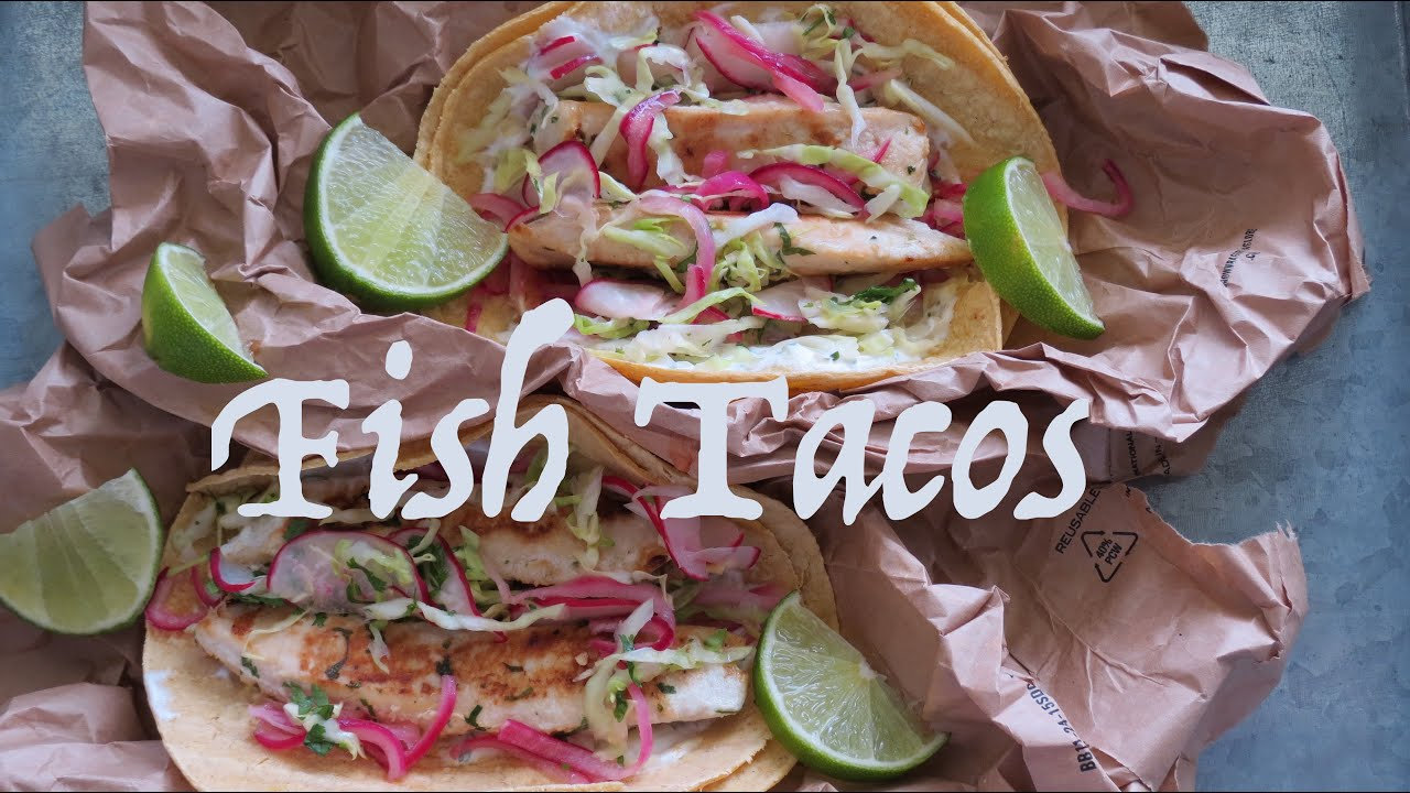 Fish tacos how to make fish tacos the frugal chef for How to make fish tacos