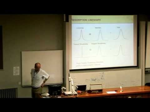 Ifan Hughes - Experiments with cold atoms and molecules - QuICC Lecture 3