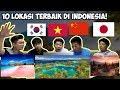 reaksi orang luar negeri melihat keindahan alam indonesia