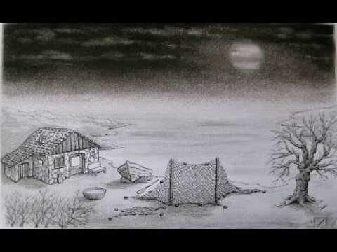 Disegno a matita  carboncino_Maurizio Santini_09  YouTube