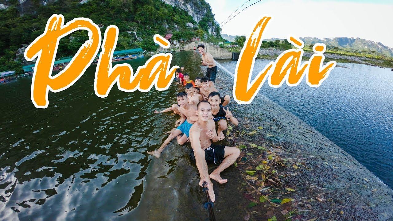 Ôn lại tuổi thơ nhẩy đập nước Phà Lài siêu đẹp tại Nghệ An