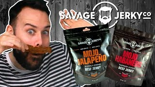 Irish People Try Savage Beef Jerky