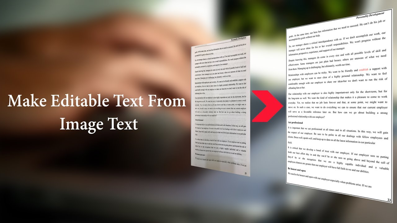 Convert Image To Editable Text Converter Using Ocr Better Way Achieve Level Convertion Is Use A Shifter Or
