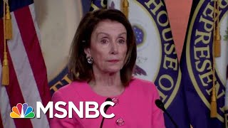 Nancy Pelosi: President Donald Trump AG Barr Committed 'A Crime' | The Beat With Ari Melber | MSNBC