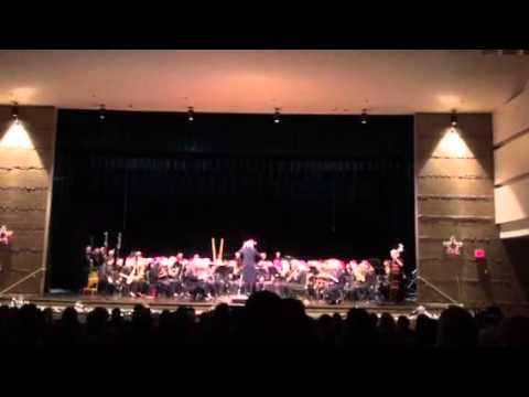 Pine Creek High School  Concert Band performing Sleigh ride