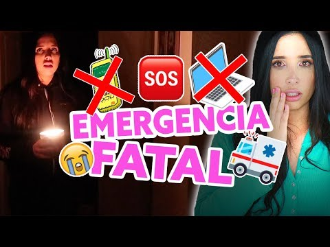 24 Horas SIN TECNOLOGÍA - ¡¡EMERGENCIA!! 🚨Ocurrió Un Accidente! 😵  Mariale