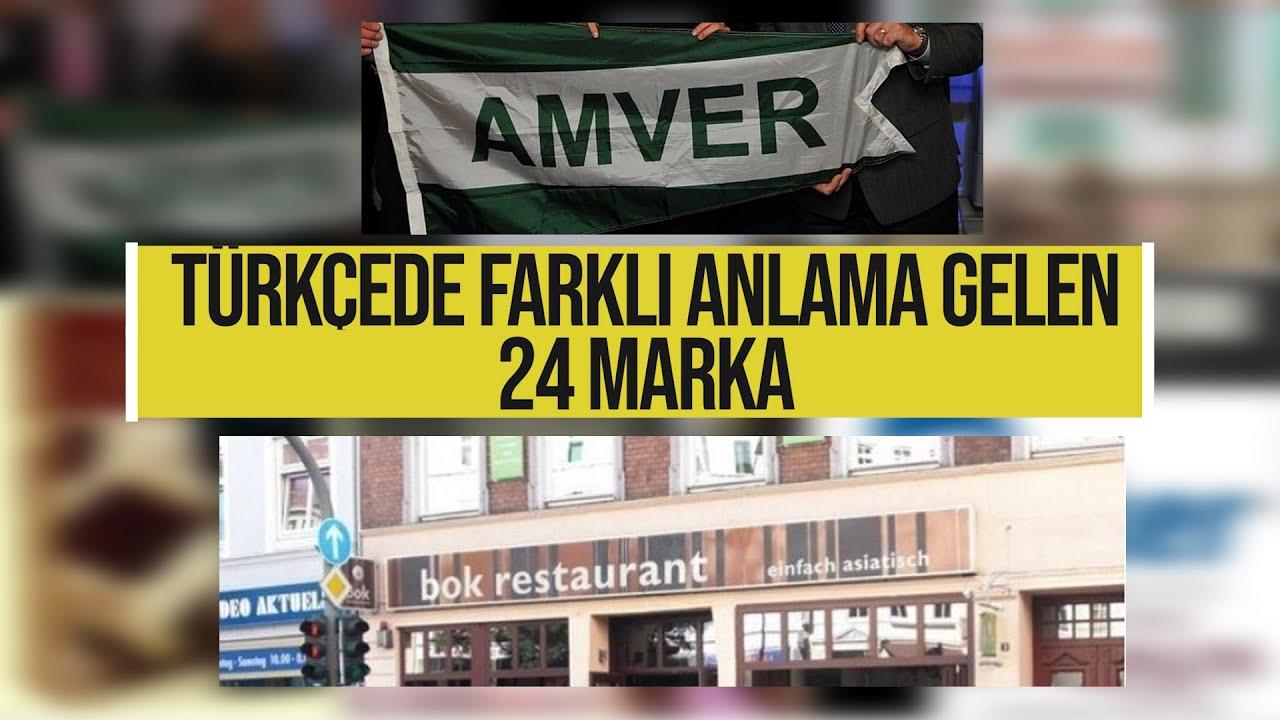 Türkçede farklı anlama gelen 24 marka