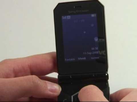 Sony-Ericsson Jalou Test Bedienung