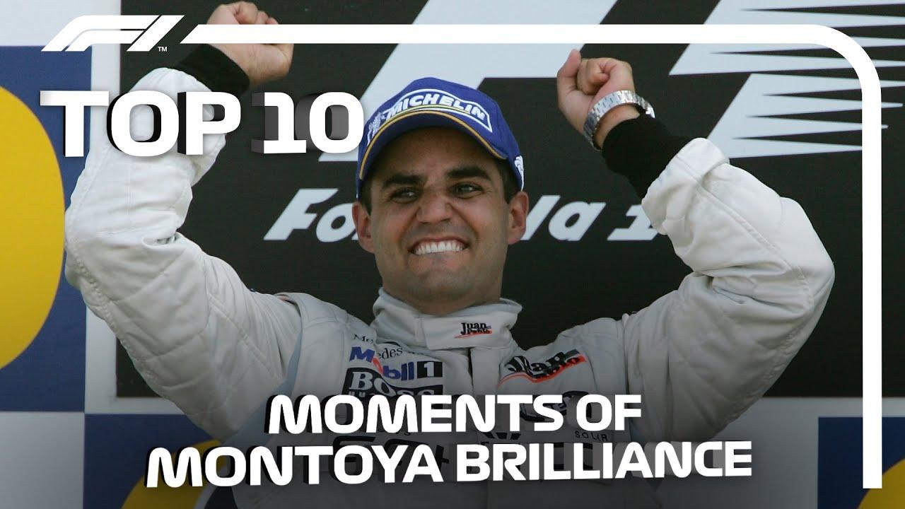 Top 10 Moments of Juan Pablo Montoya Brilliance