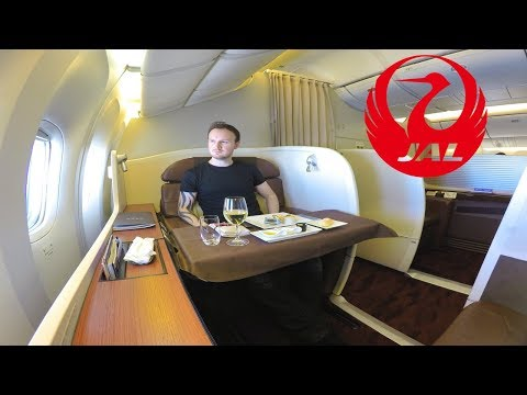 FIRST CLASS WITH JAPAN AIRLINES IS AMAZING!