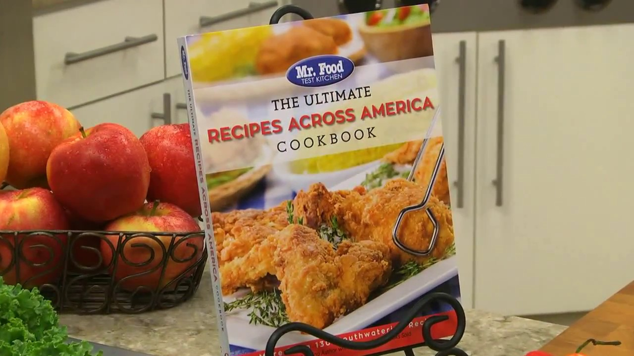The ultimate recipes across america cookbook youtube the ultimate recipes across america cookbook mr food test kitchen forumfinder Gallery