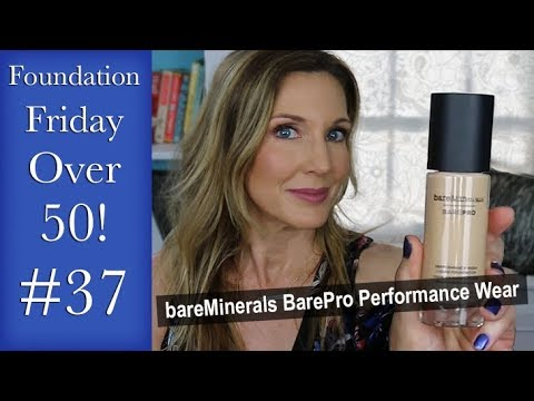 Foundation Friday Over 50 Bare Minerals BarePro Performance Wear Liquid Foundation