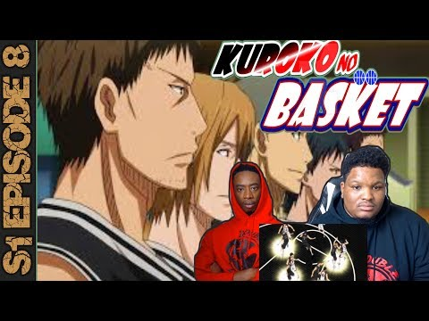 ULTIMATE DEFENSE!   Kuroko No Basket Season 1 Episode 8   Reaction