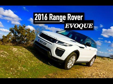 2016 range rover evoque review inside lane youtube. Black Bedroom Furniture Sets. Home Design Ideas