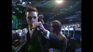 Robbie Williams - Come Undone (Echo Awards 15 Feb 2003)