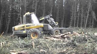 Forestry Ponsse Ergo Harvester
