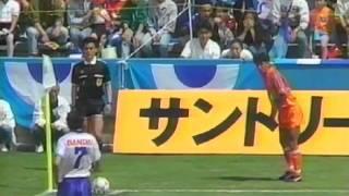 「横浜フリューゲルス×清水エスパルス」のハイライトです。