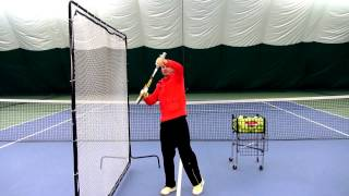 Видео урок по теннису №1