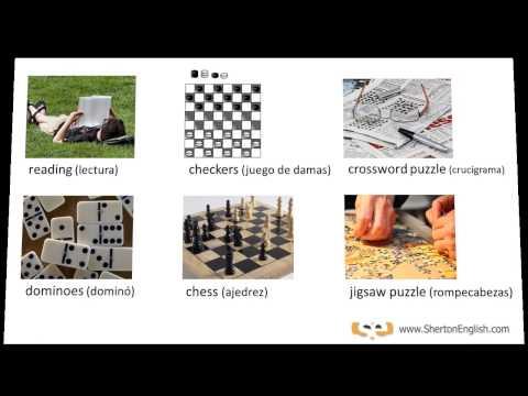Vocabulario Inglés: Esparcimiento & Pasatiempos  (Recreation & Hobbies)