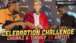 GUESS THE CELEBRATION CHALLENGE | UMTITI vs CHUNKZ & TIMBSY
